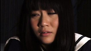 Beautiful Japanese schoolgirl gets used by a horny guy
