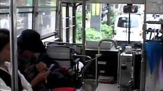 asian in bus part 2 uncen