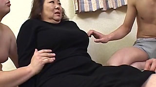 Plump Japanese Granny