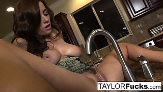 Taylor Vixen in the kitchen