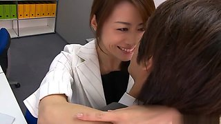 Crazy Japanese girl Maki Hojo in Amazing JAV uncensored Big Tits movie