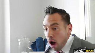 busty bride ava addams fucks best man right before wedding