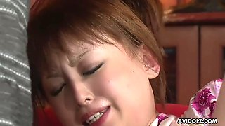 ichika gets her asian pussy properly fucked and filled with spunk