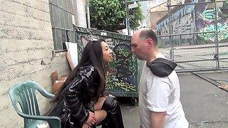 STREET BUM HUMILIATION Starring Empress Jennifer