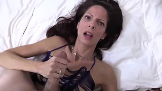 Skinny Mature Woman Asked Her Step Son To Fuck Her Ass And