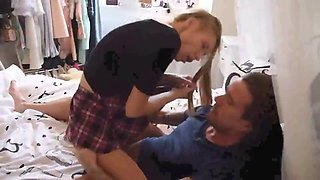 STP3 father gives her her first sexual experience!