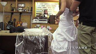 real bride sells herself at pawn shop