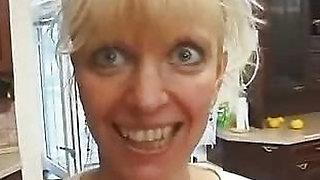 Crazy Russian Mature Aunt
