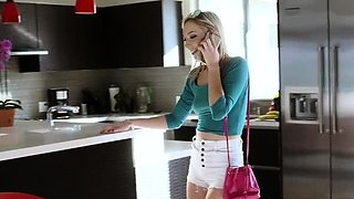Passionate blonde Zoe Parker banged in cherry