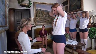 european girls spanked