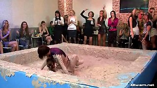 lesbian mud wrestling sluts
