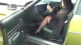 Amazing amateur Foot Fetish, Outdoor sex scene