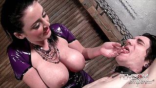 Mistress Sophie Dee Fetish Femdom Tease and Denial handjob