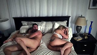 New father and duddy's daughter Stepdads Side Of The Bed
