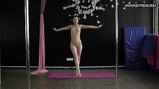 tamara neto hot russian blackhaired gymnast