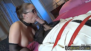Randy Maid Take Captive Boss Liza Del Sierra