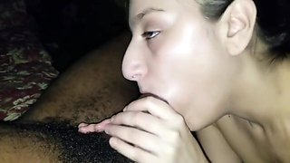 I came Mostly in Her Throat (BBC gives drunk Arab throatpie)