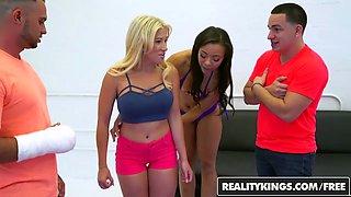 RealityKings - Money Talks - Adrian Maya Amy Pa - Oil Wrestling