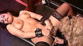 British Bitches in Leather - Lesbian Hardcore Louise Hodges Claudia Casali