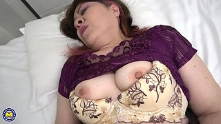 asian milf sees such a huge dick for the first time