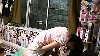 Cute Japanese schoolgirl gets the hard drilling she deserves