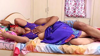 Indian housewife attracts servent