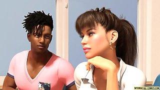 Interracial teen first bbc