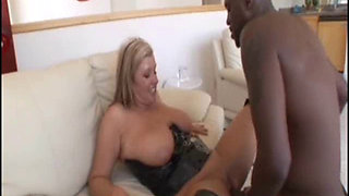 Zoey Andrews and Lex in interracial action