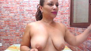 Big Ass Latina Shaking and Smoking
