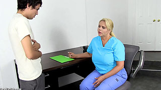 Mature Nurse Fucks Young Student