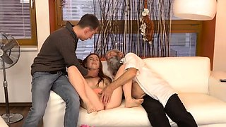 Blonde gym fuck Unexpected experience with an older gentlema