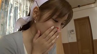 Best Japanese chick Chika Eiro in Hottest POV, Nurse JAV movie