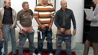Amazing pornstar in fabulous gangbang, mature adult video