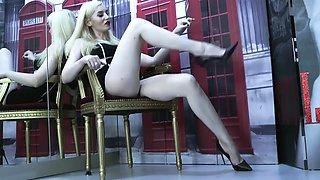 Legs in heels