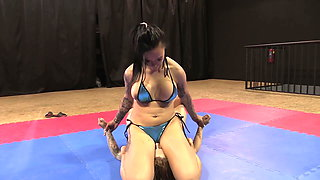 Real Wrestling - Real Sexual Domination