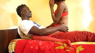 Amateur African FWB's Make Their First Sex Tape
