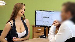 LOAN4K. Kinky girlfriend cheats in order to get a loan