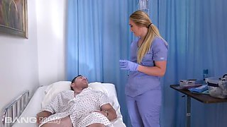 Aj applegate a.j. applegate is a home nurse that gets totally into fucking her patient