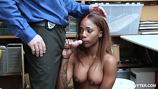 sucking cock to escape punishment