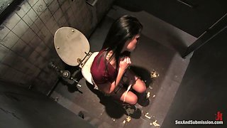 Punishment in the toilet