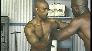 Black sexy porn stars wrestling