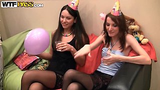 Normal Birthday Party Ends Up In A Hot Sex Party