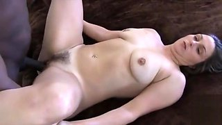 Wife goes black while hubby films