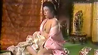 Beautiful Asian girls in hot lesbian action