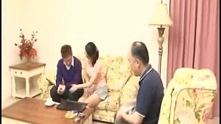 33yr old Japanese Wife Fucks Hubby & not Stepson