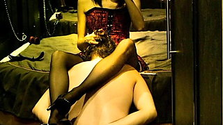 Mistress dominates her submissive - real femdom story