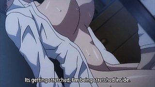 Bodacious hentai girls surrender their peaches to hard dicks