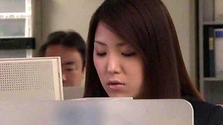 Incredible Japanese Slut Kokoro Maki In Exotic Lingerie, Office Jav Video