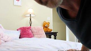 Perv Stepdad Puts a Hidden Camera at Leia Rae's Room