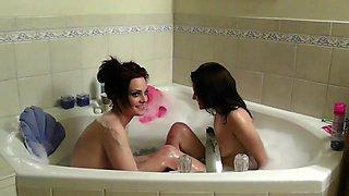 College Lesbians in bath